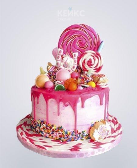 Красивый торт вместе 7 лет   фото 019
