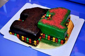 Красивый торт вместе 7 лет   фото 020