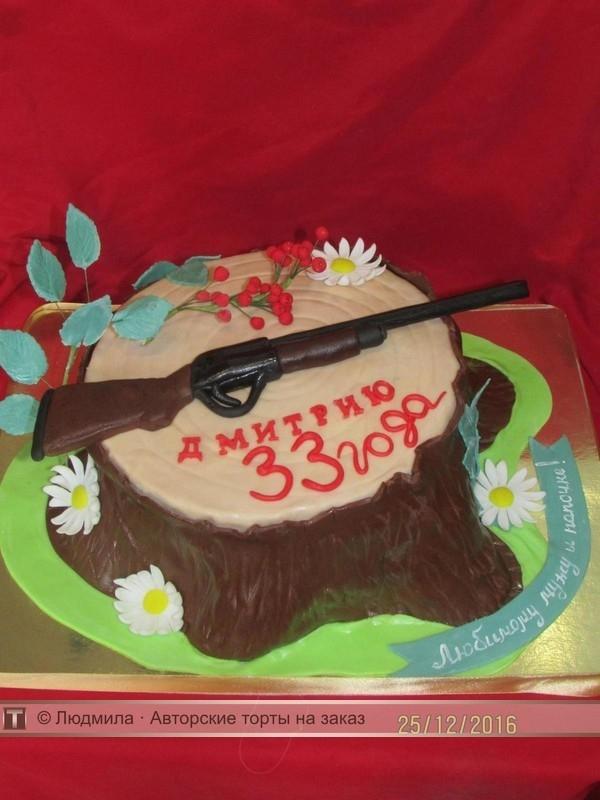 Красивый торт 33 года мужу   фото001