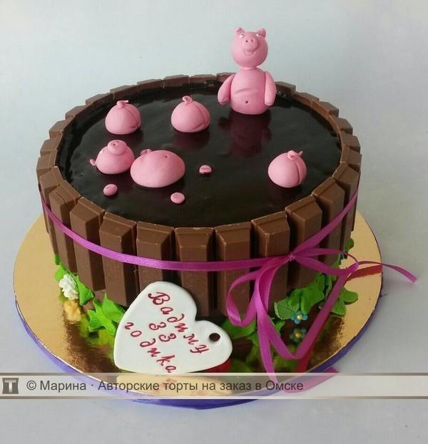 Красивый торт 33 года мужу   фото006
