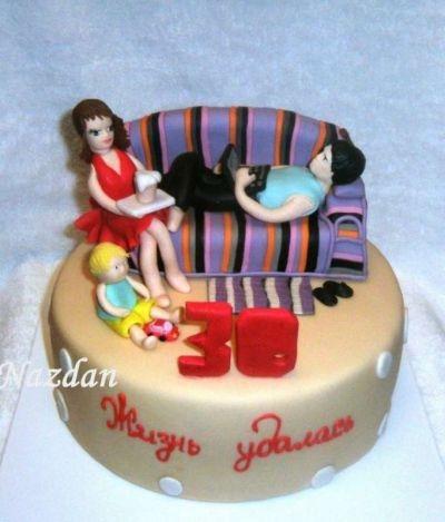 Красивый торт 33 года мужу   фото013