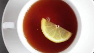 Кружка чая с лимоном   картинки 026