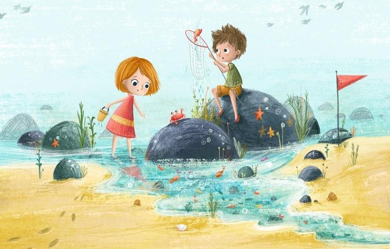 Лето в детском саду картинки для детей   подборка 024