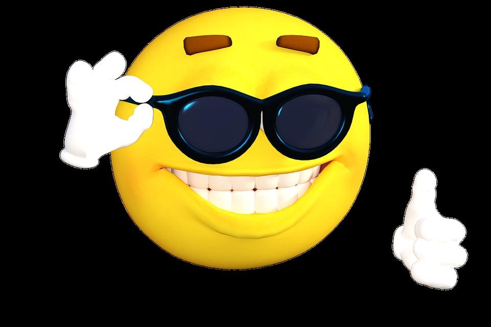 Анимашки, крутые картинки улыбок