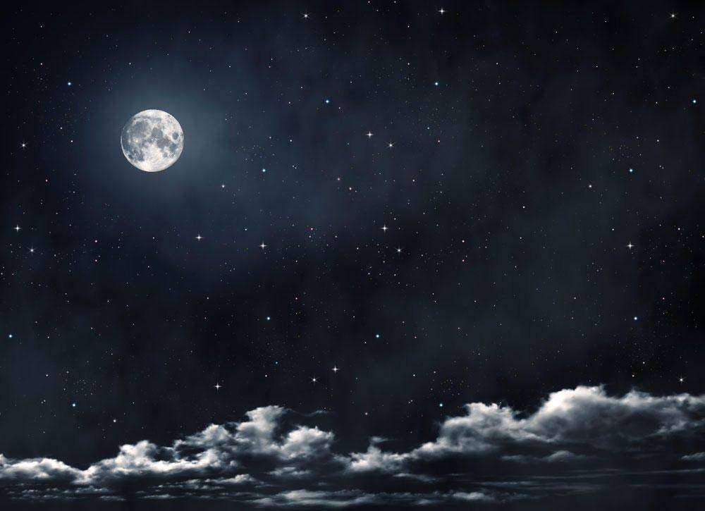 Луна на ночном небе   красивые фото012