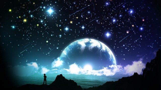 Луна на ночном небе   красивые фото014