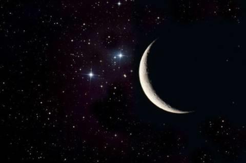 Луна на ночном небе   красивые фото017