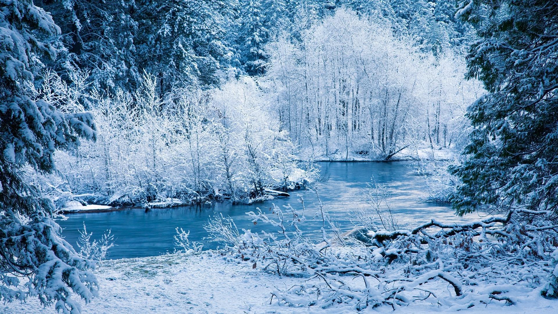 Лучшие картинки зимние на обои   подборка (10)