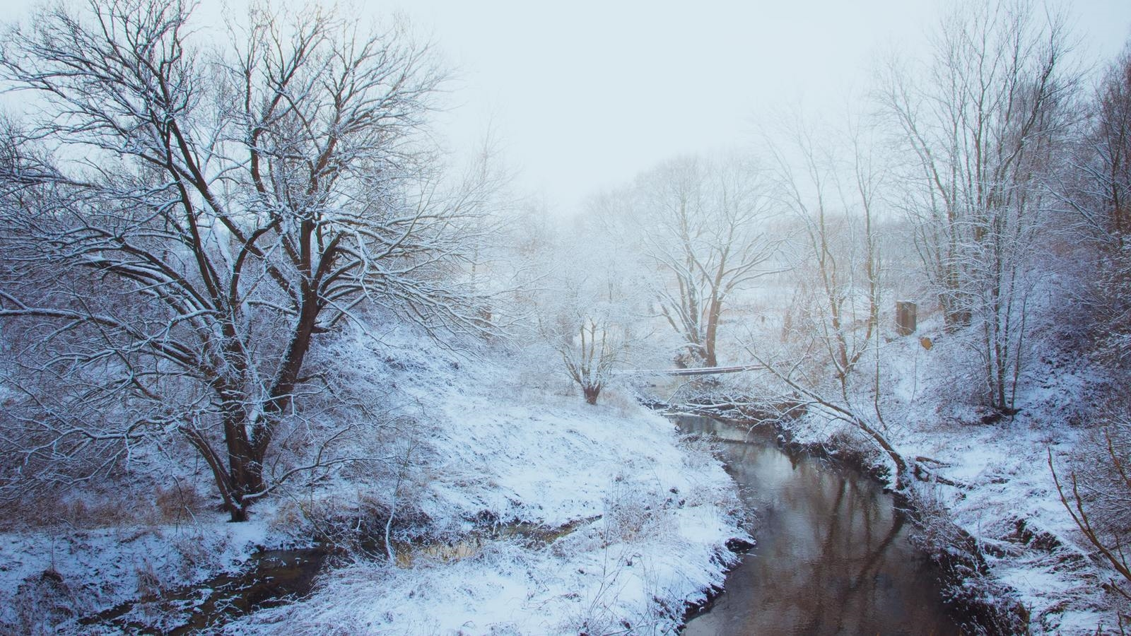 Лучшие картинки зимние на обои   подборка (3)
