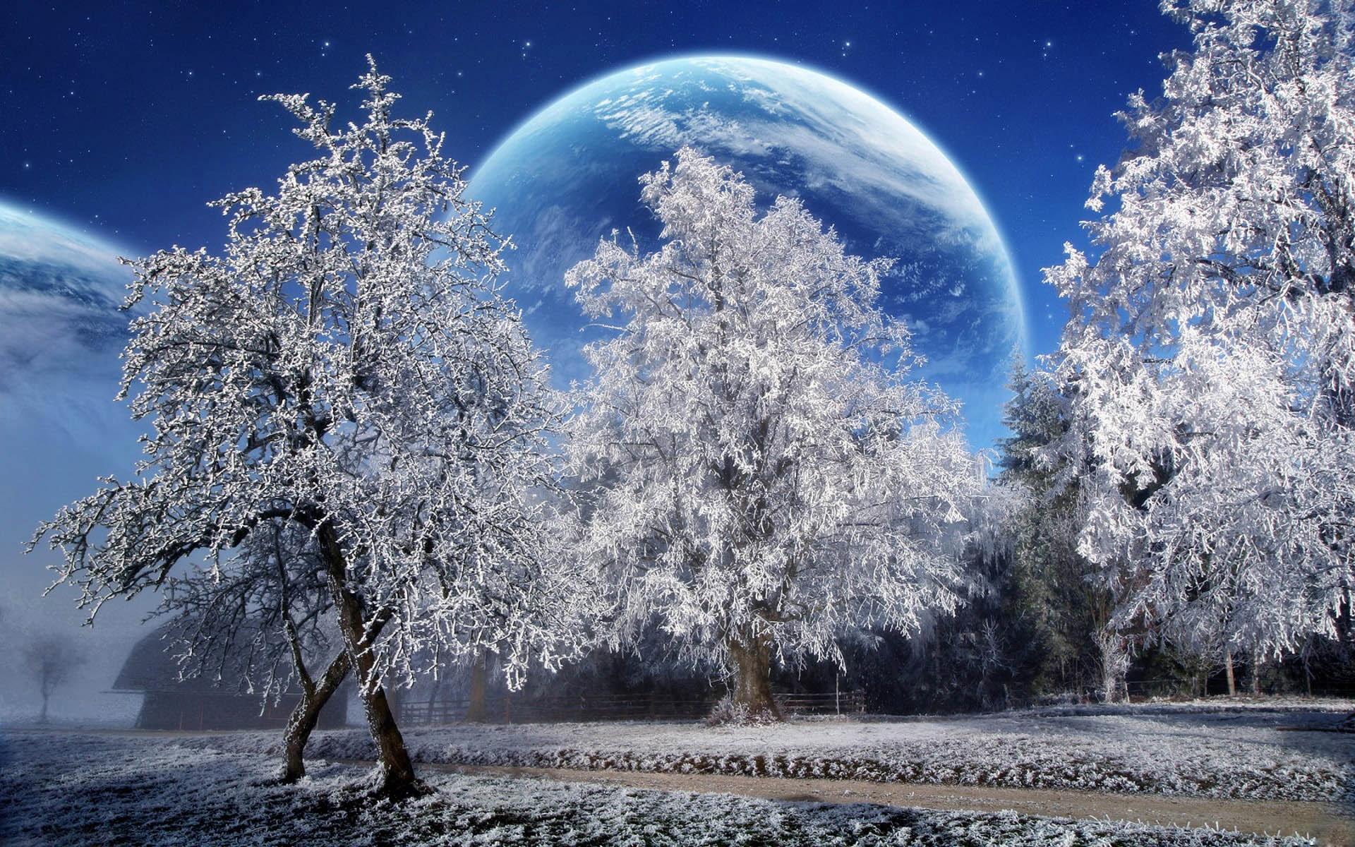 Лучшие картинки зимние на обои   подборка (7)