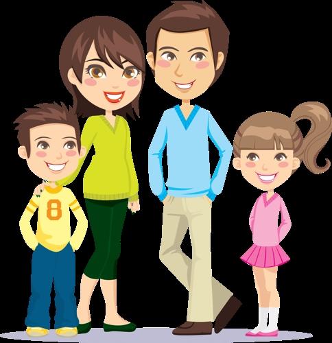 Мамы и папы рисунок для детей 016