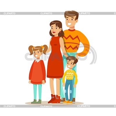 Мамы и папы рисунок для детей 018