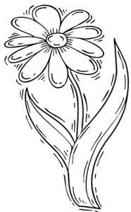 Маргаритки рисунки красивые и интересные 023
