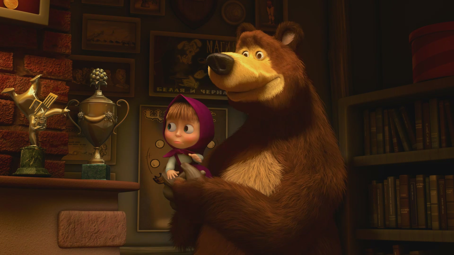 стильная маша и медведь картинки на стол альбом