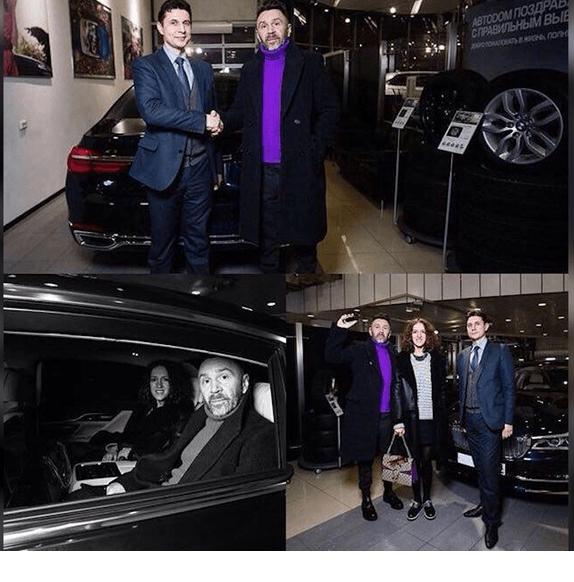 Машины Шнура Сергея фото   подборка001