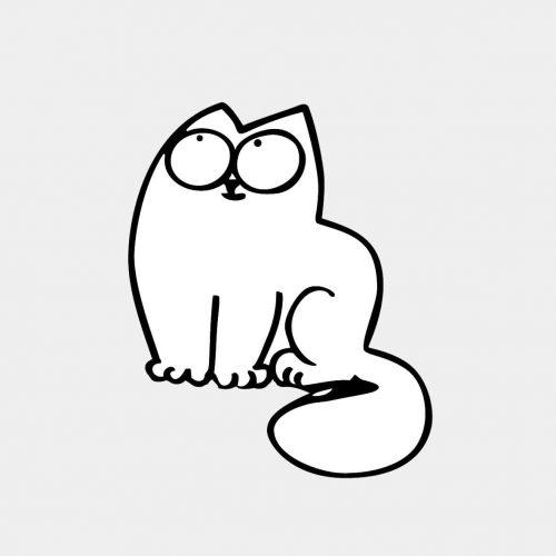 Милые картинки для срисовки котята 008