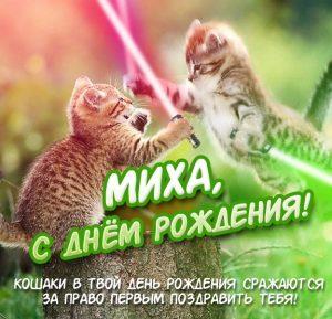 Михаил с днем рождения прикольные открытки 024