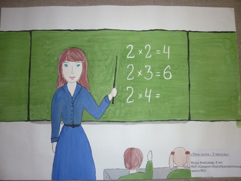 Мой лучший учитель рисунок и картинки 007