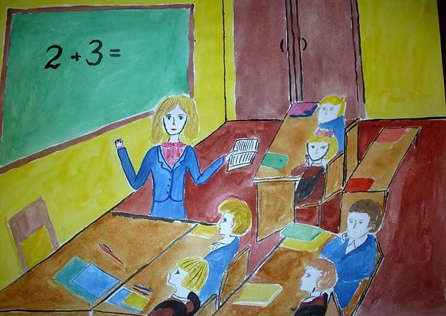 Мой лучший учитель рисунок и картинки 011