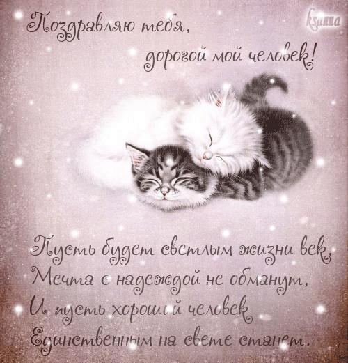 Мой милый котик картинки и открытки 015