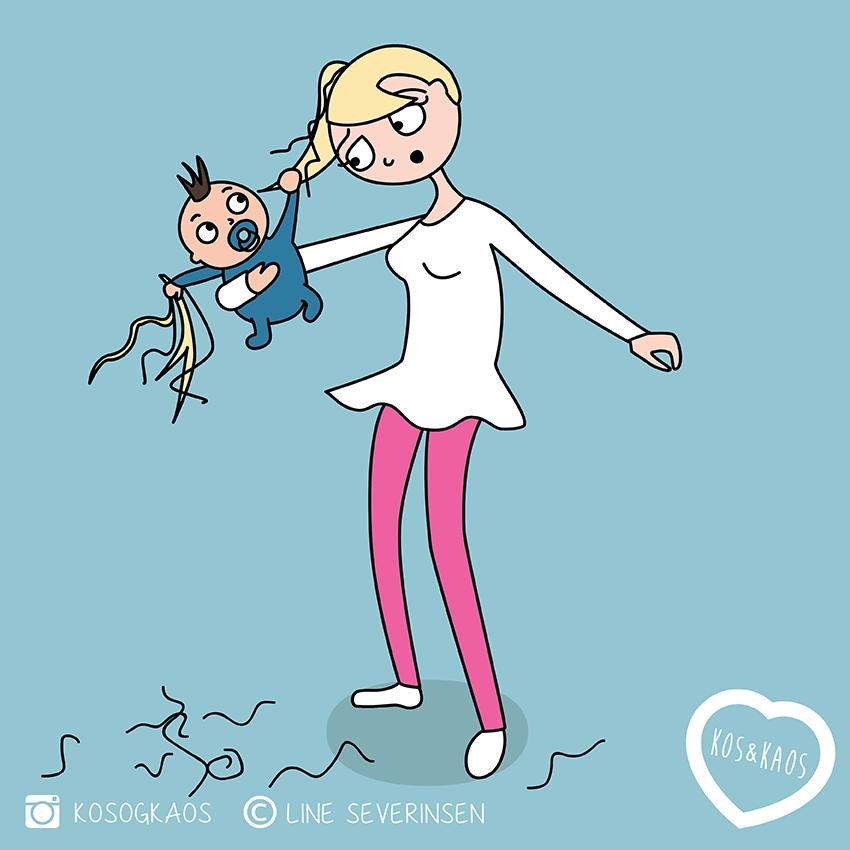 Молодая мама смешные картинки и фото003