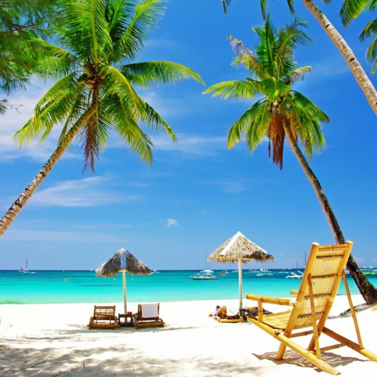 Море пальмы и песок фото и картинки012