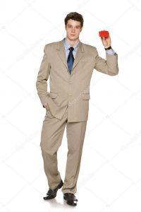 Мужчина в костюме   фото в полный рост (25)