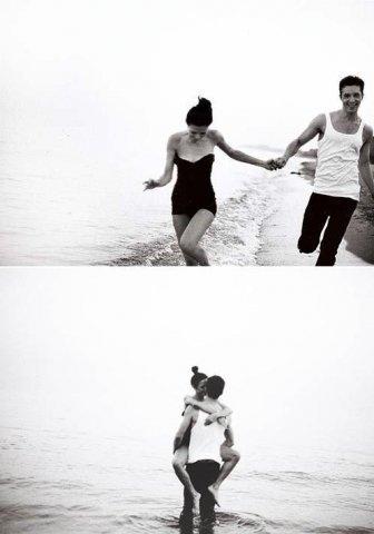 Мужчина держит на руках девушку   фото 005