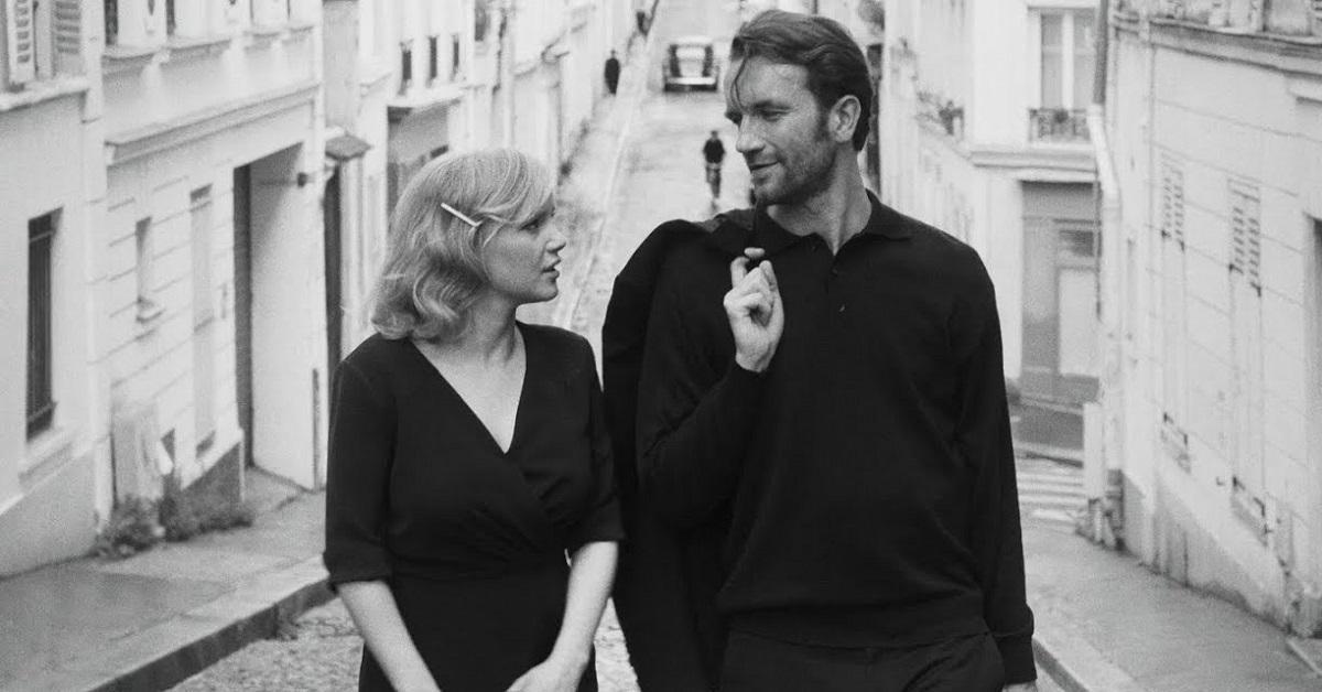 Мужчина и женщина страсть   фото черно белые (24)