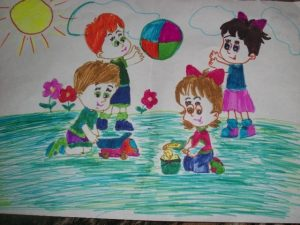 Мы за счастливое детство рисунки 024