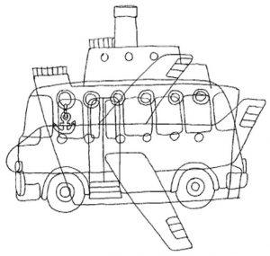 Наземный транспорт   картинки для детей детского сада (29)
