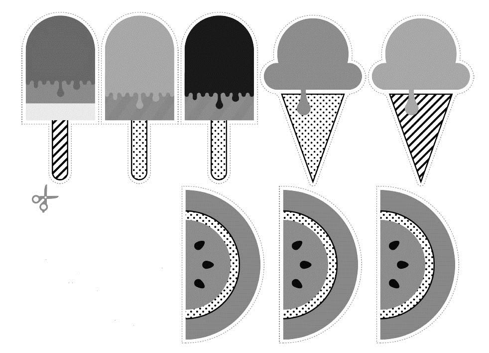Наклейки для лд черно белые для распечатки   подборка 006