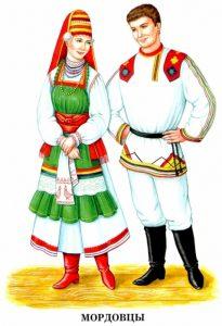 Народы России   раскраска с названиями для детей (17)