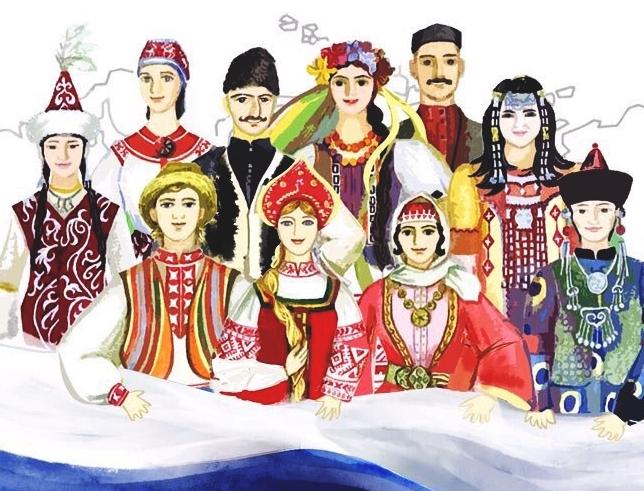 Народы населяющие Россию для детей   картинки 004