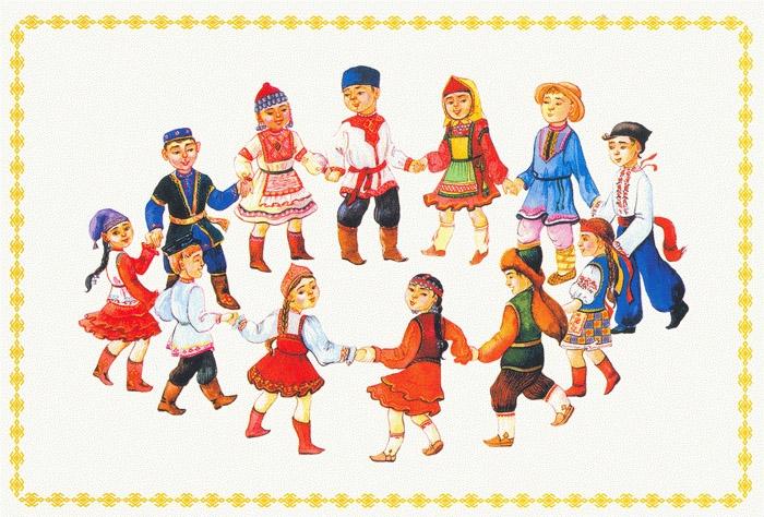 Народы населяющие Россию для детей   картинки 012
