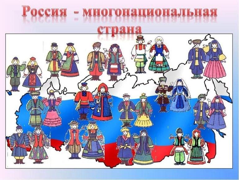Народы населяющие Россию для детей   картинки 024
