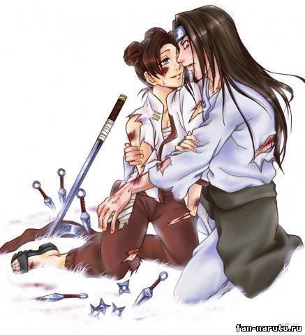 Наруто и Неджи картинки арты красивые005