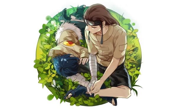 Наруто и Неджи картинки арты красивые006