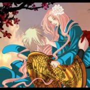 Наруто и Неджи картинки арты красивые019