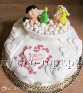 На годовщину мужу торт   фото 028