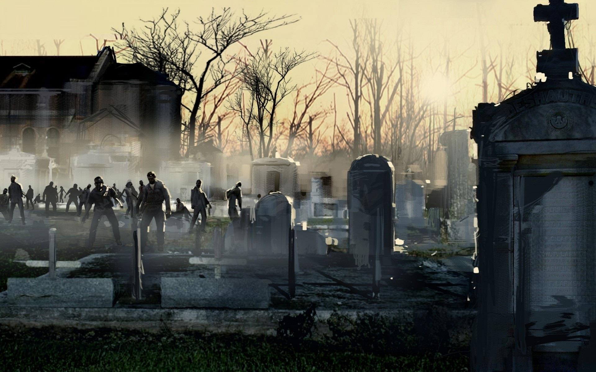На рабочий стол картинки зомби008