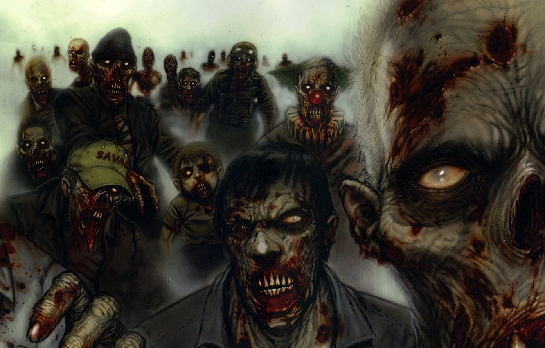 На рабочий стол картинки зомби017