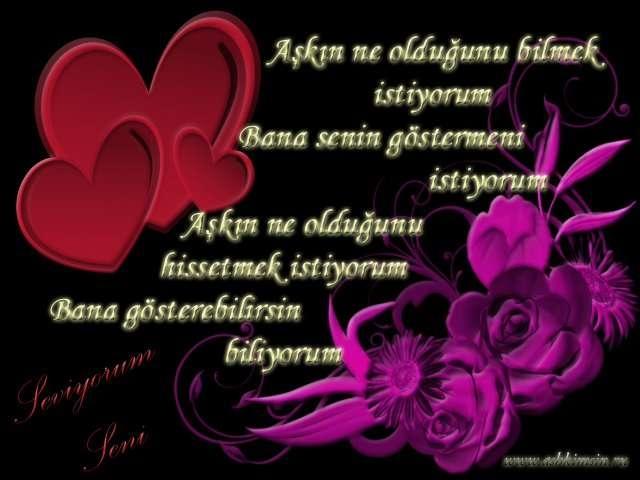 Днем рождения, открытки любви на турецком