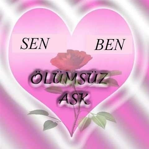 Картинка о любви на турецком