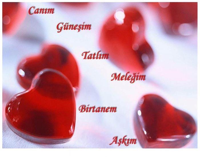 Дню, любовные картинки на турецком