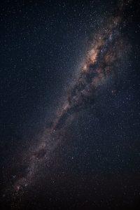 Небо звездное и девушка   подборка 028