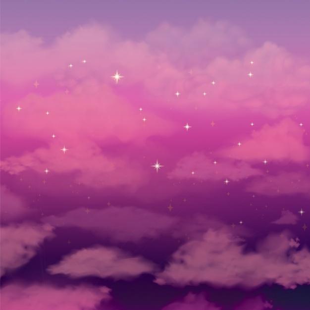 Небо с облаками розовыми   фото и картинки 005