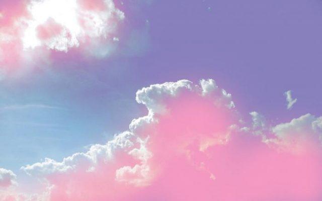 Небо с облаками розовыми   фото и картинки 007
