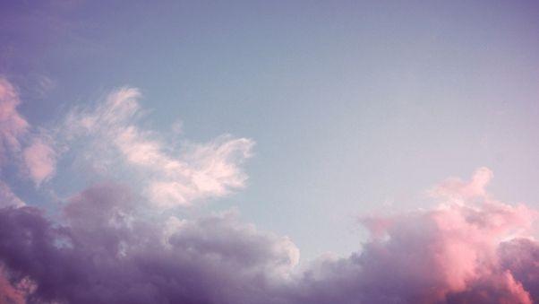 Небо с облаками розовыми   фото и картинки 008