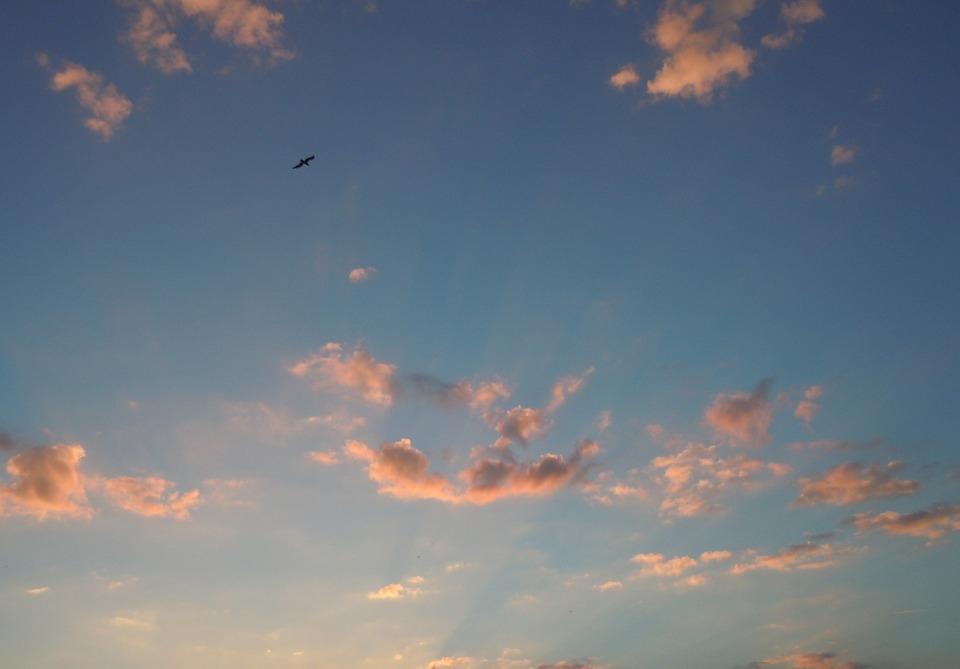 Небо с облаками розовыми   фото и картинки 009